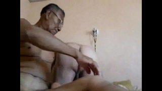 Old Hispanic cousins deep gay anal sex