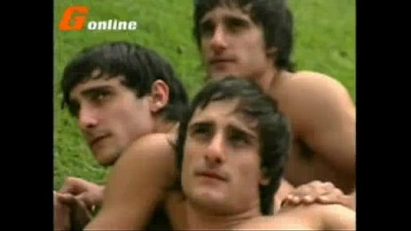 Brazilian triplets pose for hard cock nude photos together